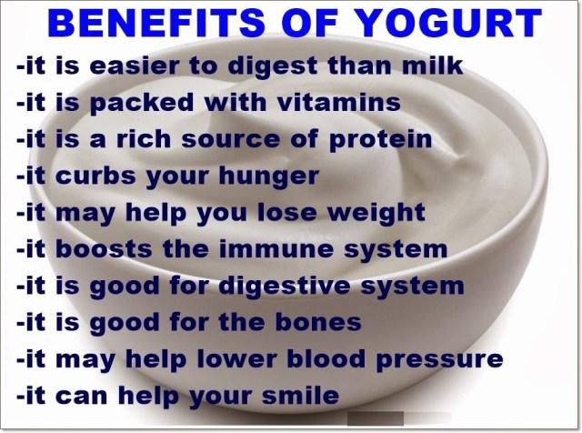 Yogurt Beneftis Weight Loss