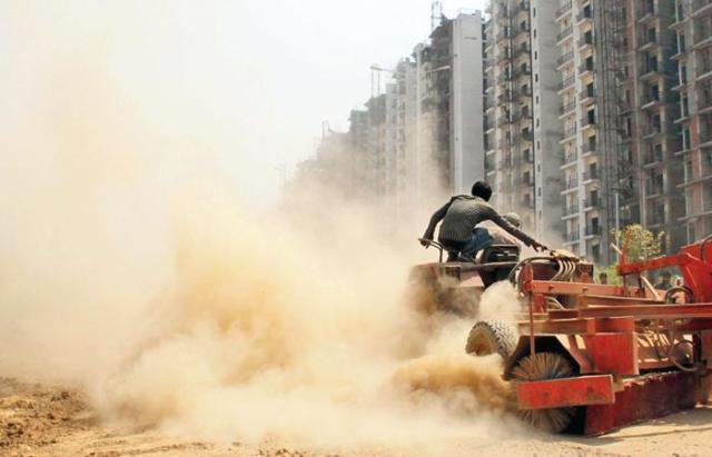 Construction pollution