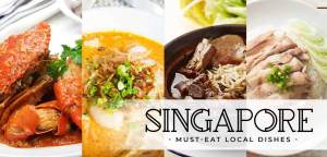 Top 3 Must-Try Foods When In Singapore – Food Guide