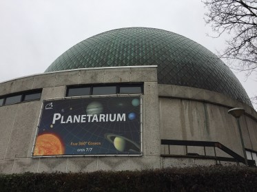 A Planetarium we discovered slightly outside the city.