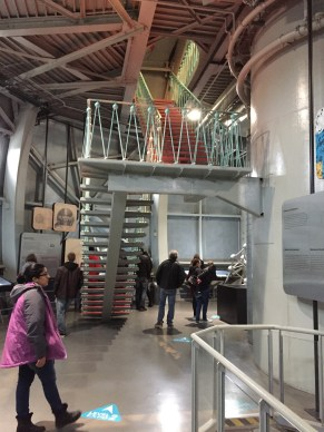 A look inside the museum within the Atomium.