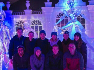 A group adventure to see Disney ice sculptures in Metz!