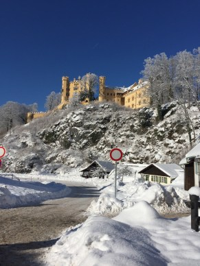 Our first castle: Hohenschwangau.