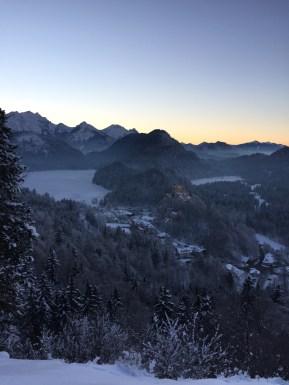Beautiful German and Austrian Alps.