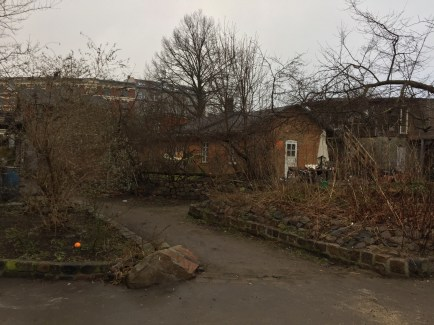 A look at a home within Christiania.