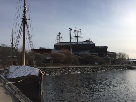 The Vasa museum.