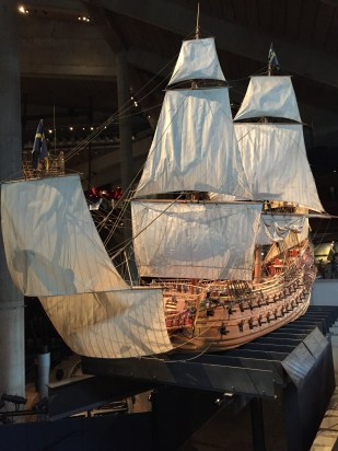 A model of the ship