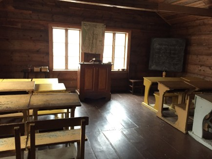 A classroom from when Oslo was first created.