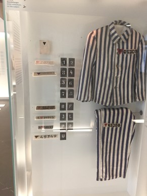 This is the outfit the prisoners had to wear.