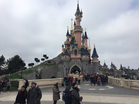 My first look at the Sleeping Beauty Castle