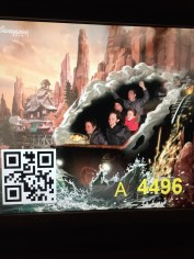 Big Thunder Mountain in Disneyland was WAY more fun than the one in Orlando. It was so much faster and a lot longer. There were also pitch black tunnels as it went under the surrounding lake! Amazing!