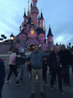 I had to get a picture in front of the castle