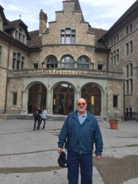 I had only a few hours on Sunday until my train left to go back to France. We decided to go check out the Swiss Museum in Zurich.