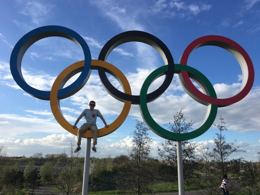 We found the Olympic Rings from the 2012 London Olympic Games.