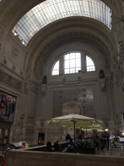 On my way to Florence! Just a short layover in the Milan, Italy train station.