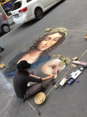Some street artists!