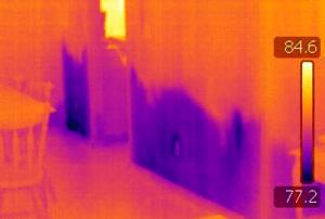 Wet Basement Infrared Camera