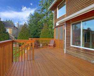 Deck Cedar Wood