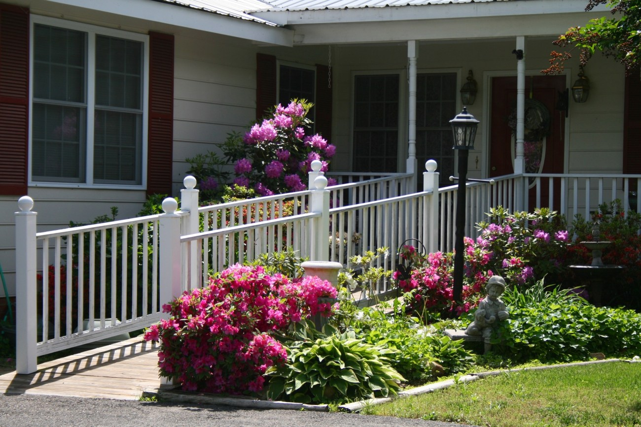 Wheelchair Ramp and Deck