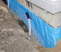 Blueskin Waterproofing Weeping Tile