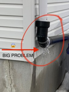 Broken Downspout