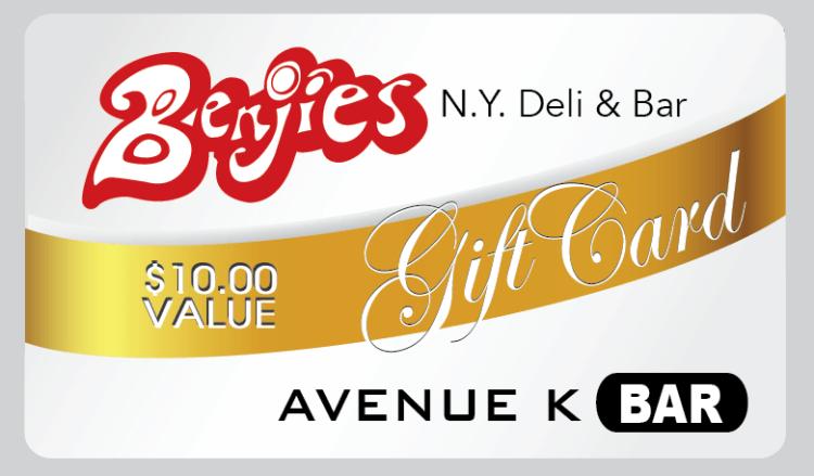 Image of Benjies NY Deli gift card
