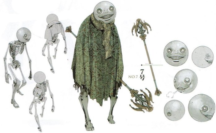 nier emotion - emil