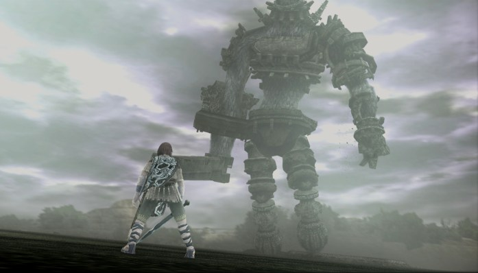 nier emotion - shadow of the colossus