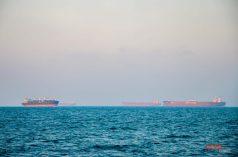 Cargo Boat Convoy