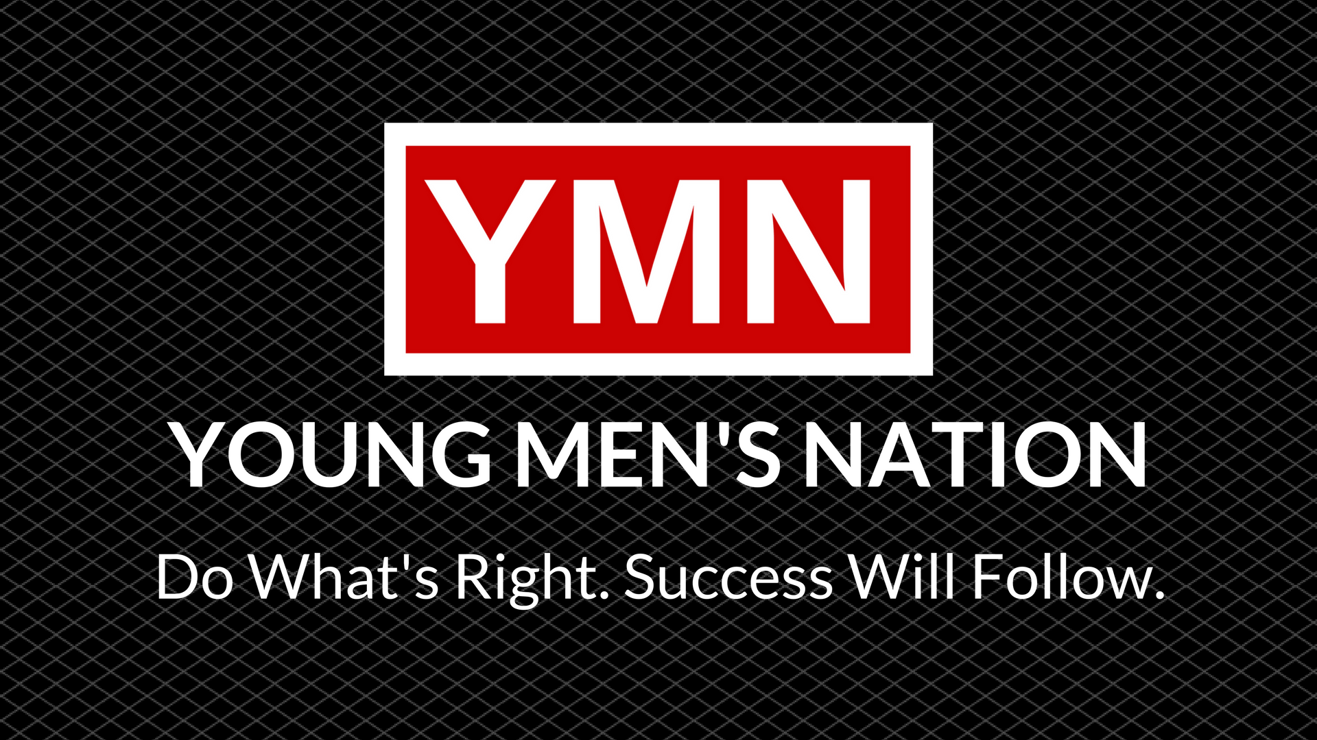 Young Men's Nation Business Card - Back