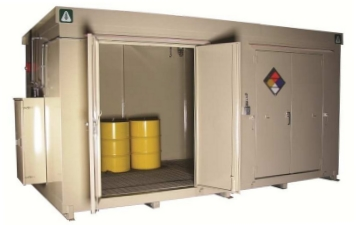 EPI Chemical Storage Buildings/Containers