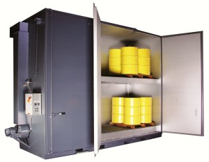 'Sahara Hot Box' Model E24 Electric Drum Heater