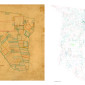 San Augustine County Plat Map, 1839 & 2013 thumbnail