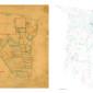 San Augustine County Plat Map, 1839 & 2013 thumbnail