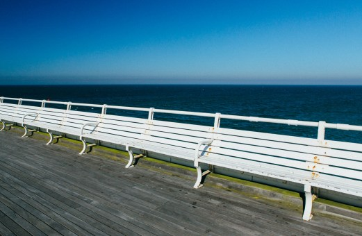 Benches, Cromer Pier