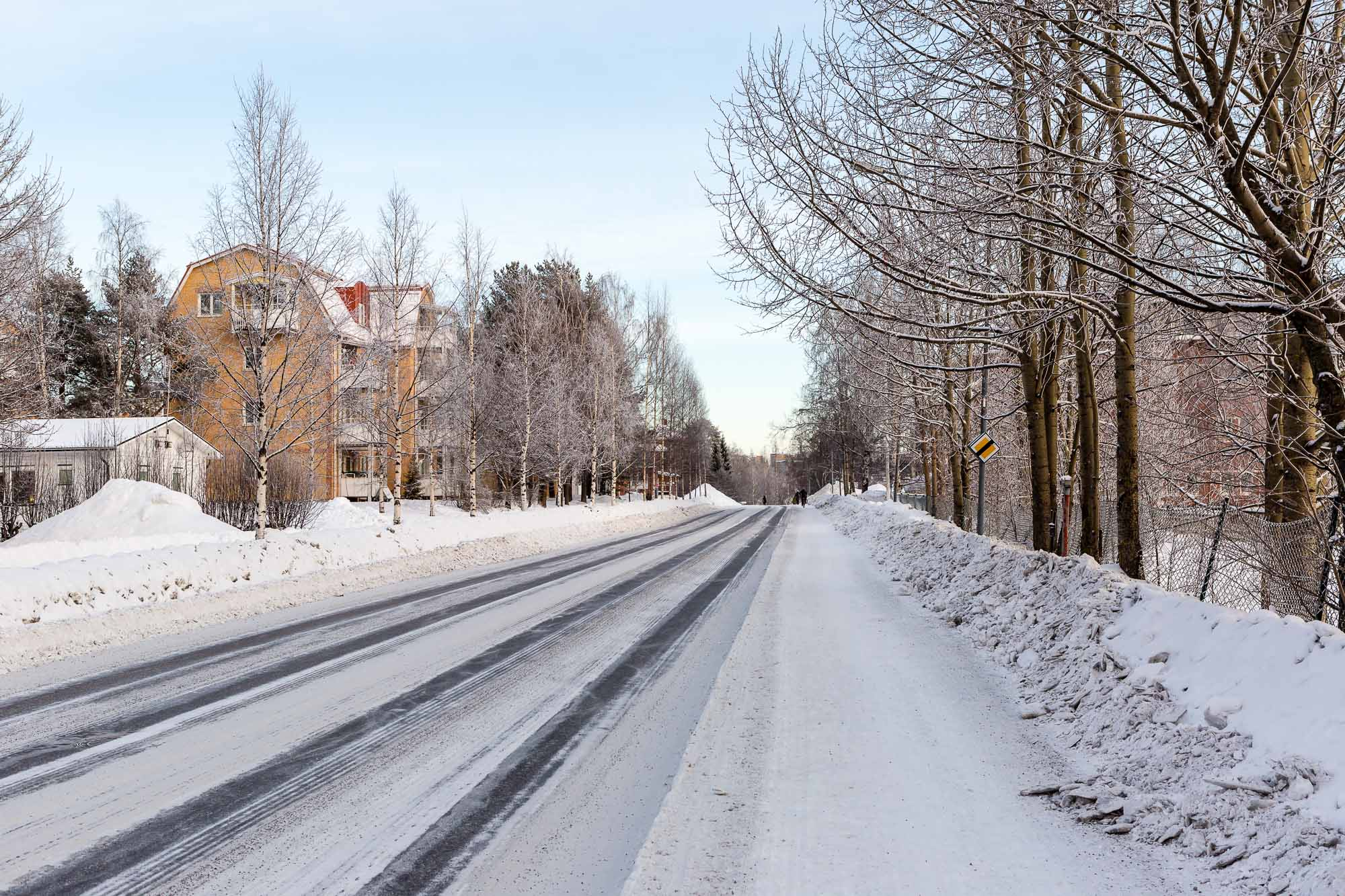 Street, Luleå, Sweden January 2017, Ben Lee Photography