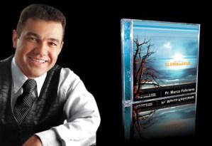 Foi-se a Glória de Deus - Marco Feliciano Design de capa de cd