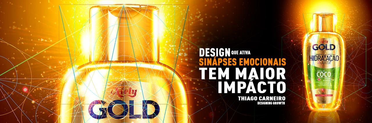 Agência de design de embalagens redesign proporção áurea grid criação - Novo DESIGN de Niely Gold Água de Coco - agência design Branding e embalagem thiago carneiro L'Oreal rio de janeiro benlev comunicação