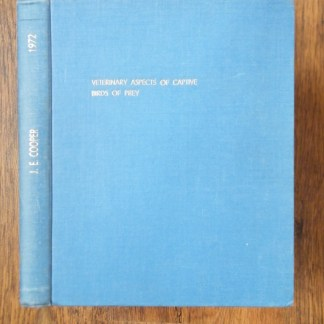 book Veterinary Aspects original thesis by J.E. Cooper