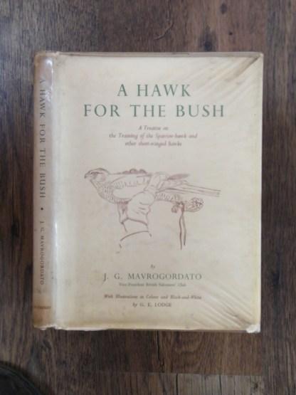 book a hawk for the bush by Jack Mavrogordato