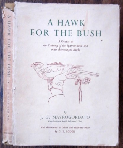 book 1960 a hawk for the bush jack mavrogordato