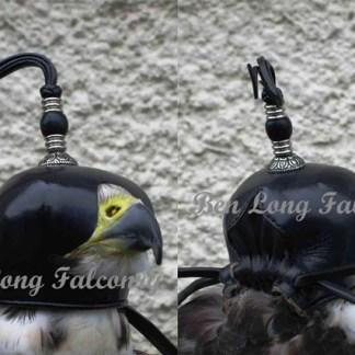 falconry hood onyx