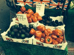 Veg at Wells market