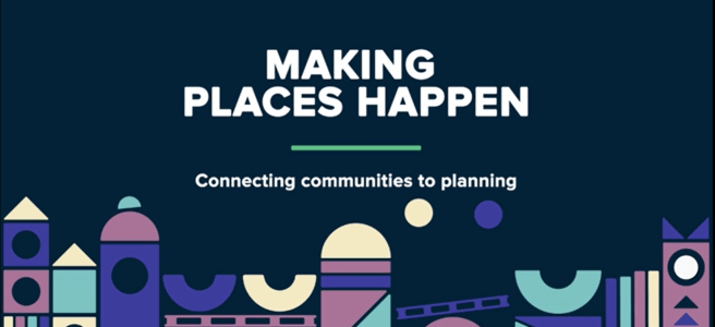 Telling the story of our work to make places happen