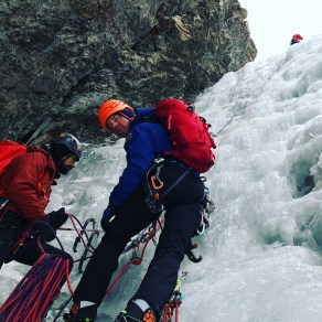 San Juan Mountain Guide training on the first Hoar House Hose