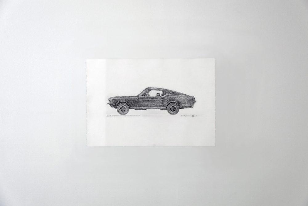BULLIT, FORD MUSTANG SHELBY COBRA GT-500 FASTBACK 68, INSPECTEUR BULLIT