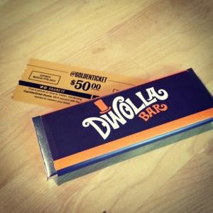 Dwolla wonka bar golden ticket