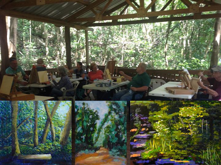 4to Taller de Pintura Impresionista en el Bosque San Patricio