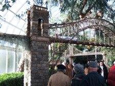 New York Botanical Gardens Train Show Recreations of NY City Bridges