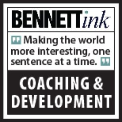 Bennett Ink offers writing lessons to make the world more interesting, one sentence at a time.